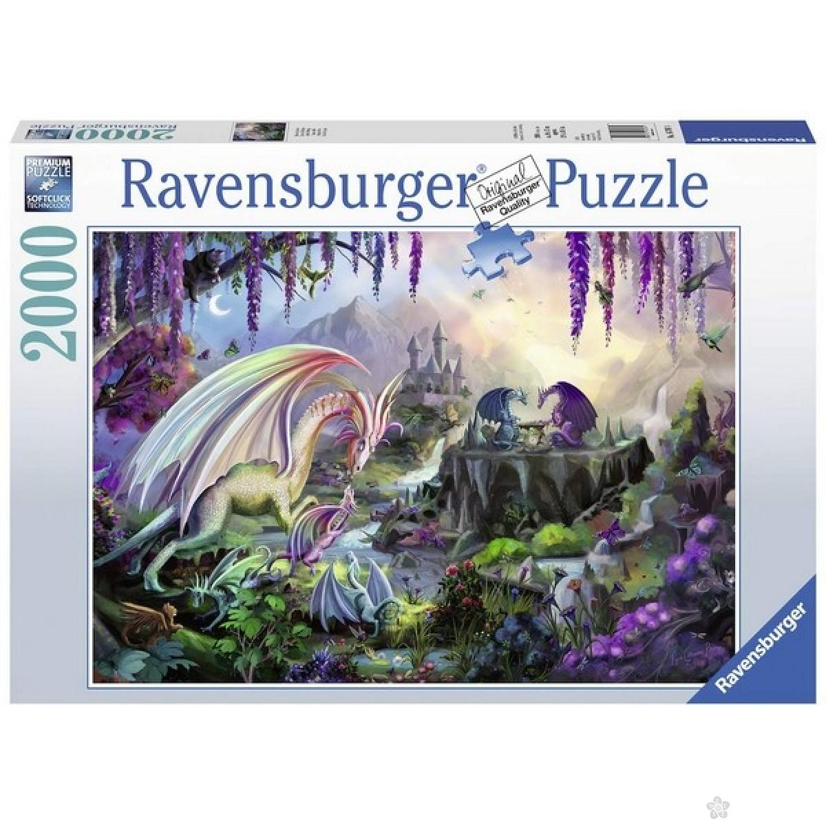 Ravensburger puzzle (slagalice) -  Dolina zmajeva RA16707