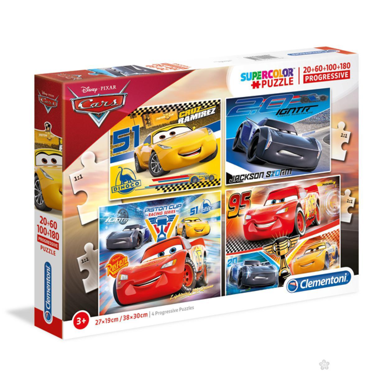 Puzzle 4u1 Cars CL07714