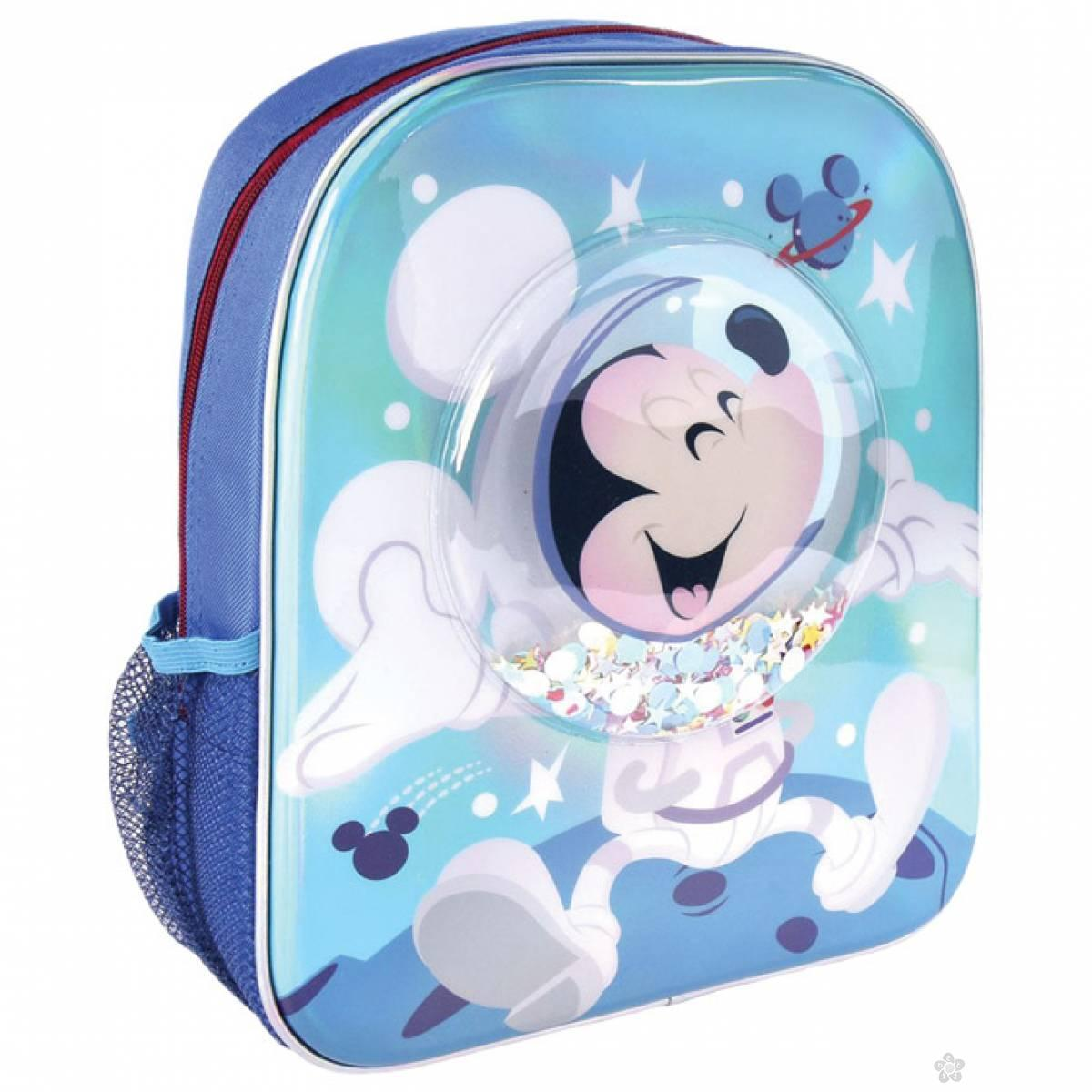 Ranac za vrtić Mickey sa konfetama 2100003451