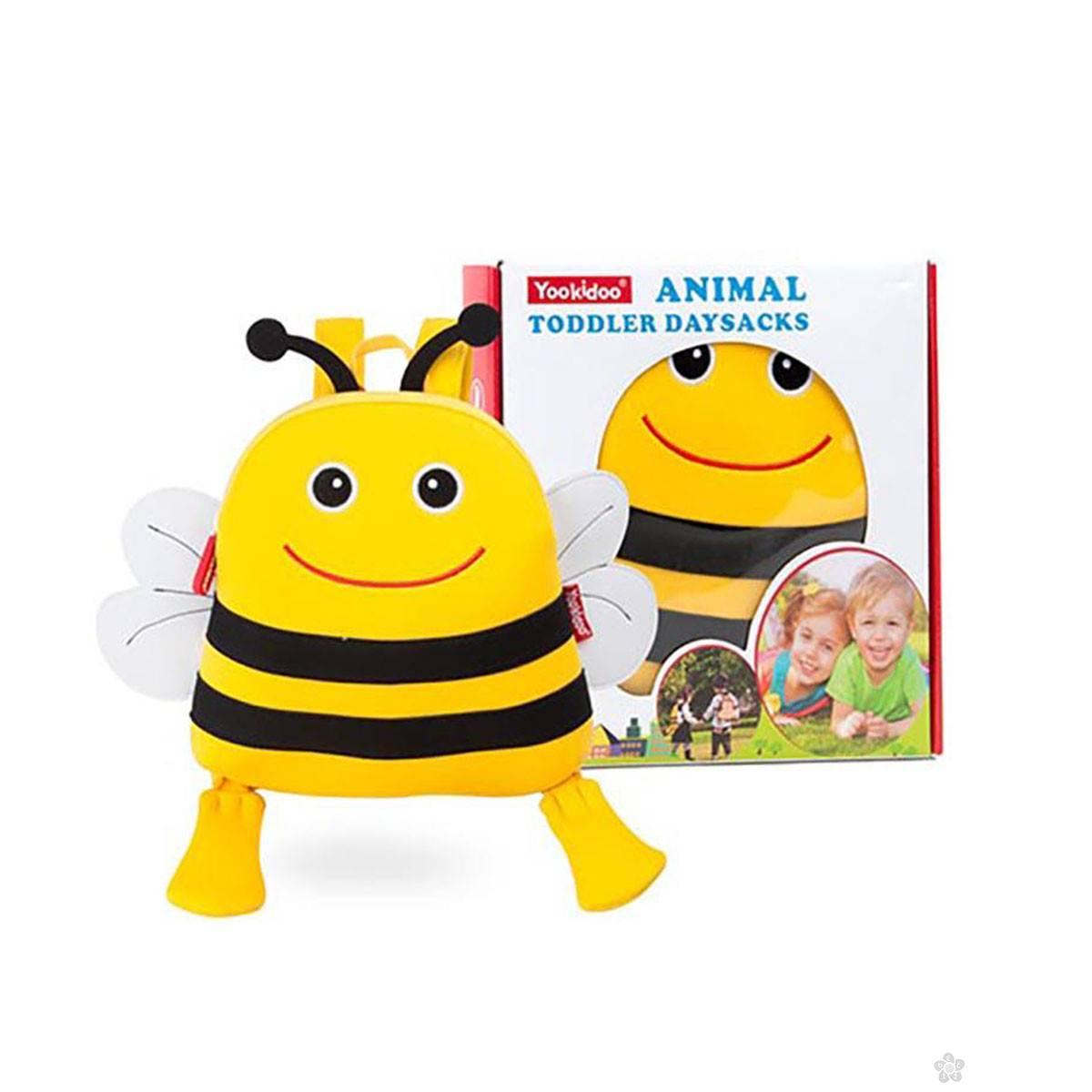 Ranac za vrtić Yookidoo 320958 Pčelica