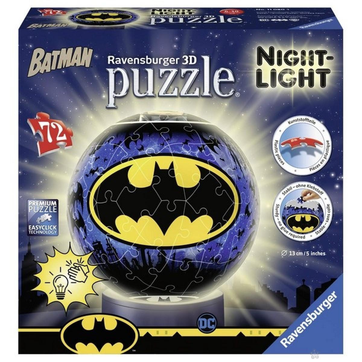 Ravensburger 3D puzzle - Betmen