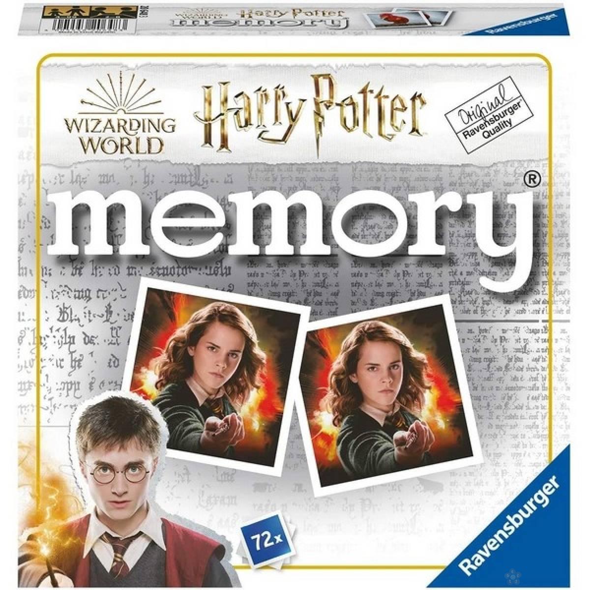 Ravensburger drustvena igra - Harry Potter memorija