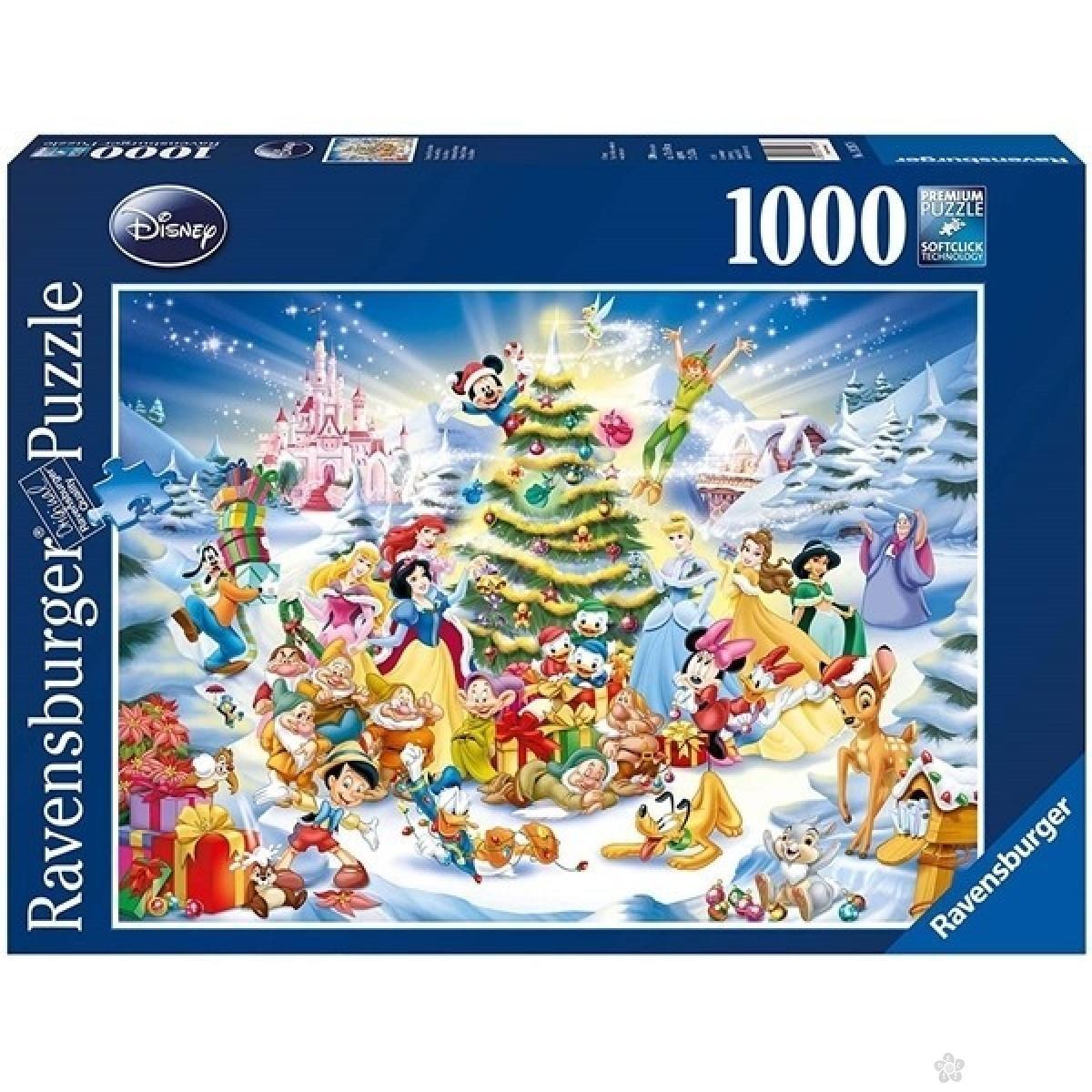 Ravensburger puzzle Božićna Disney čarolija RA19287