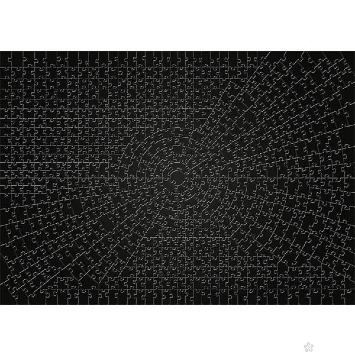 Ravensburger puzzla KRYPT crni RA15260
