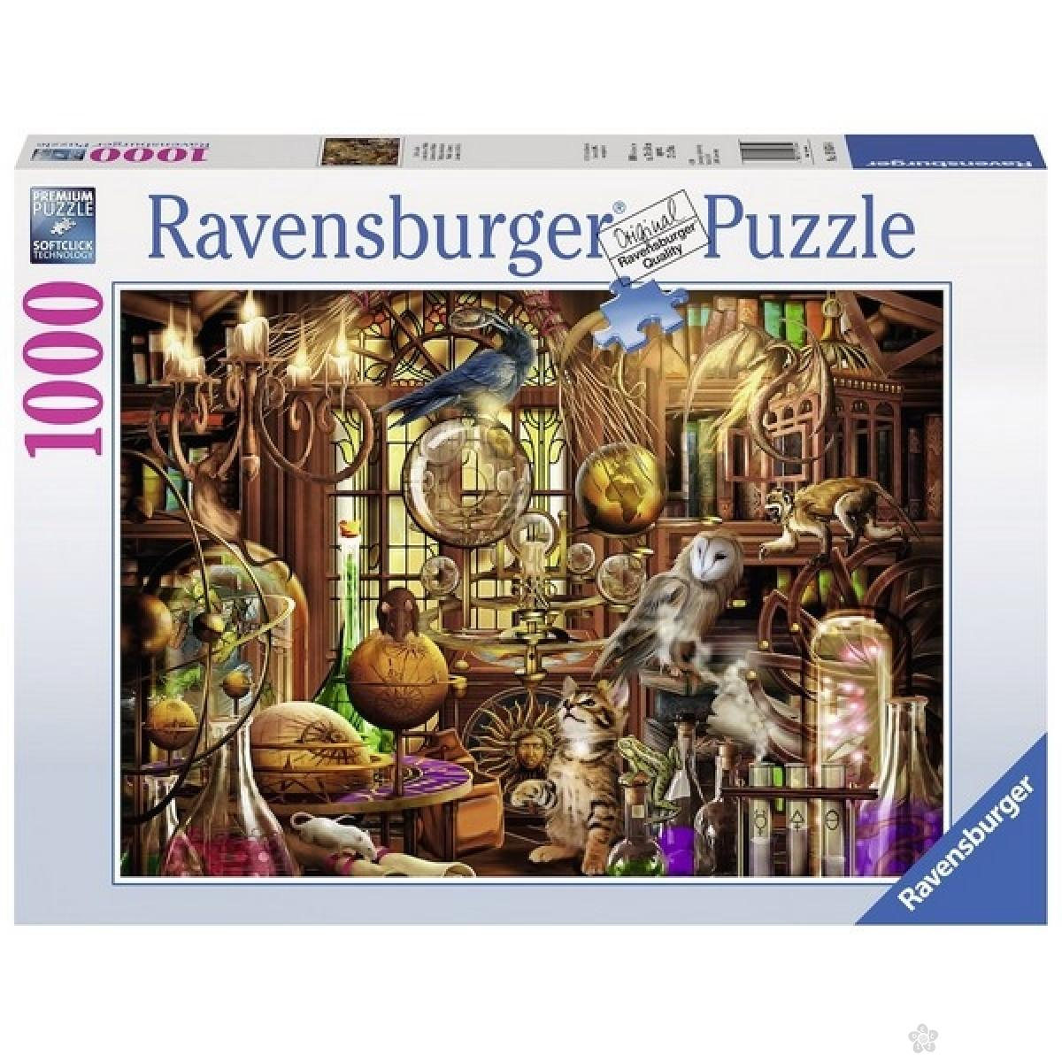 Ravensburger puzzle (slagalice) -Merlinova laboratorija