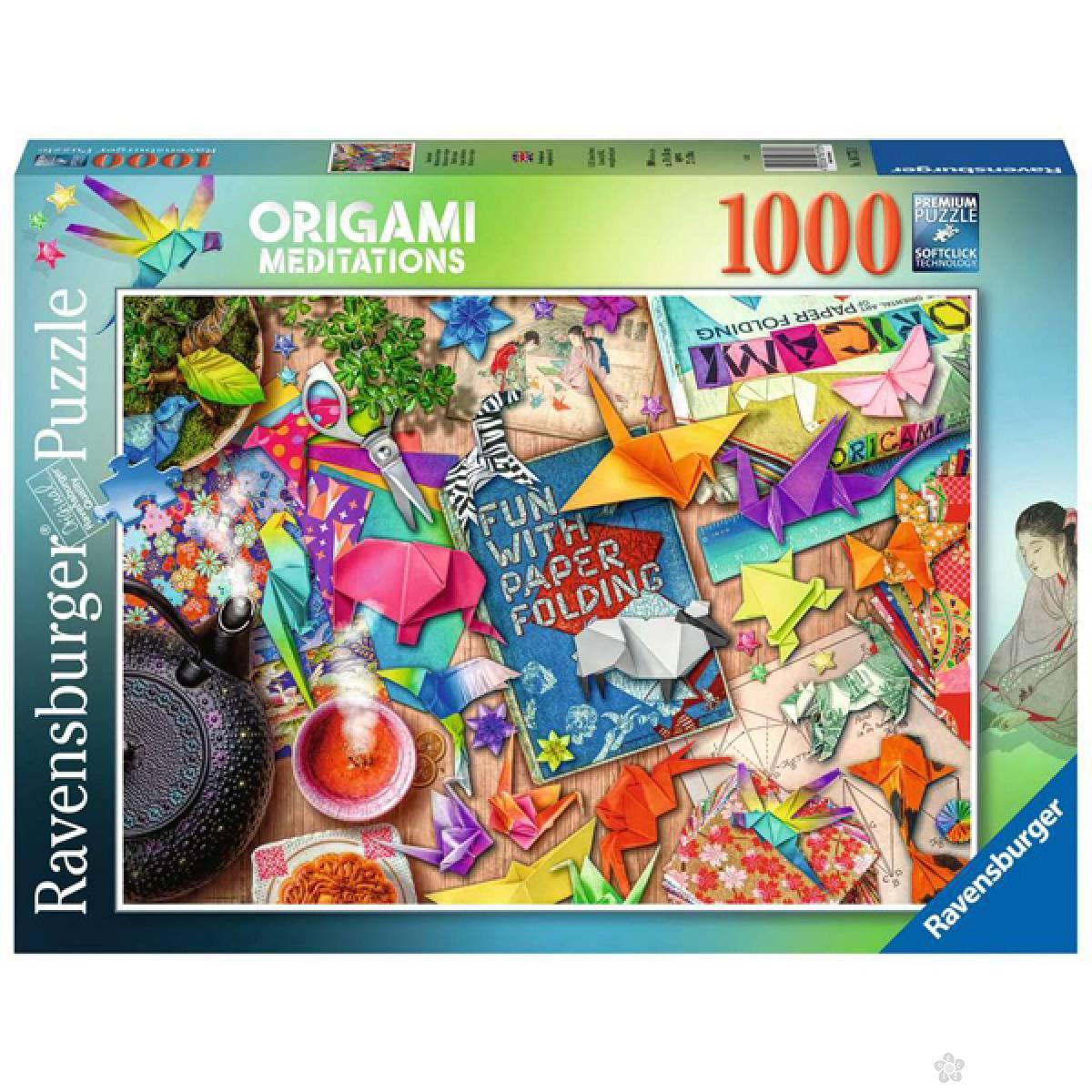 Ravensburger puzzla Origami Meditations RA16775