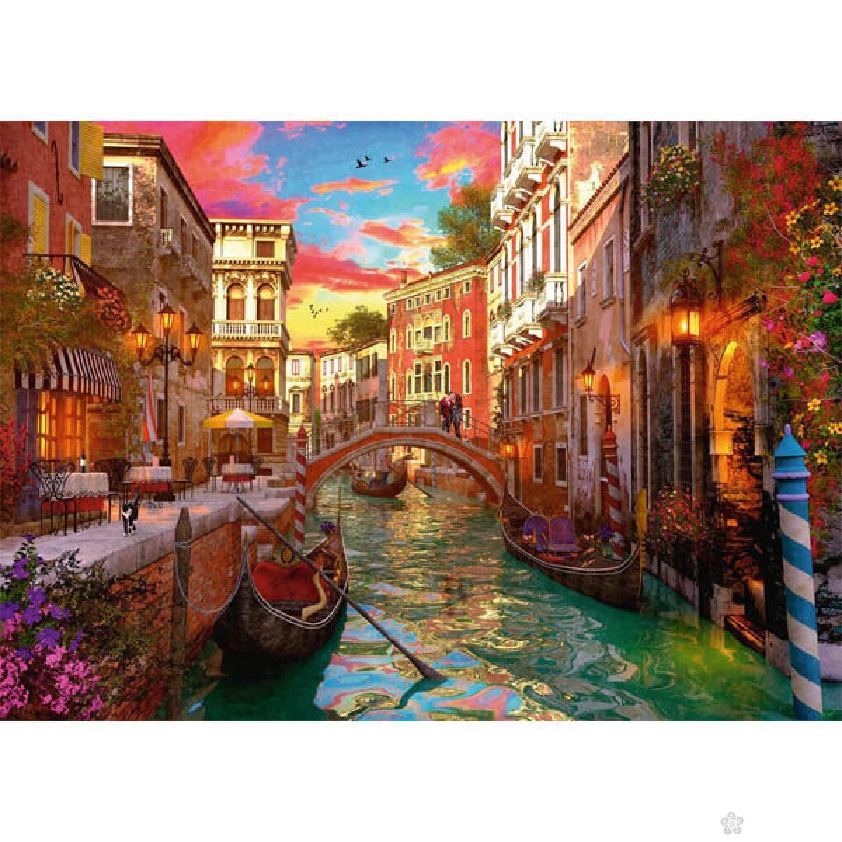 Ravensburger puzzle Romance in Venice RA15262