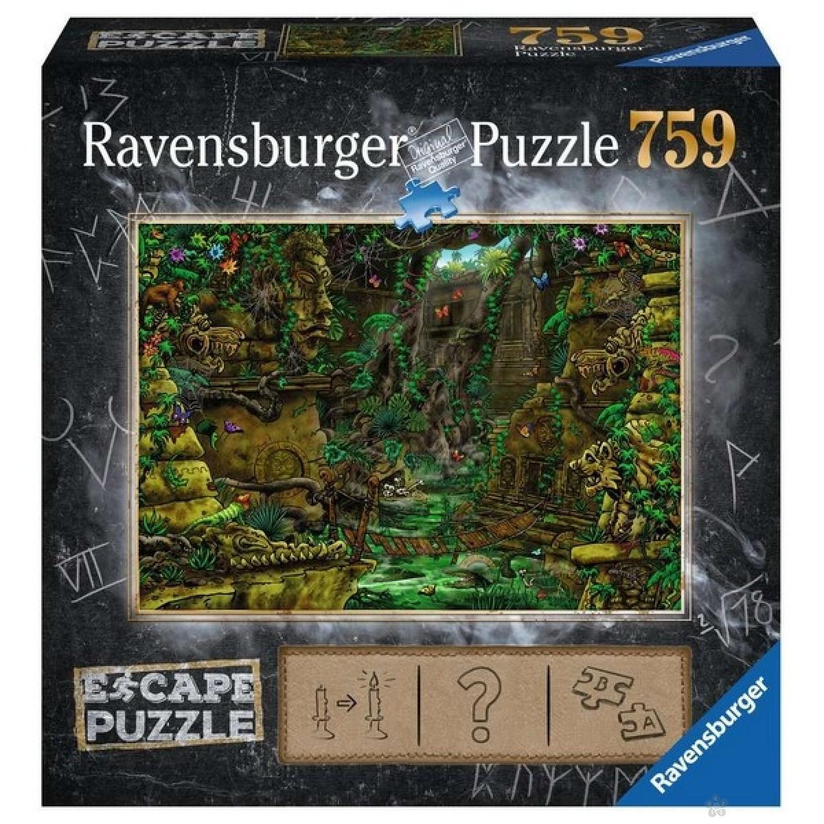 Ravensburger puzzle (slagalice) - Drevni hram  759 delova