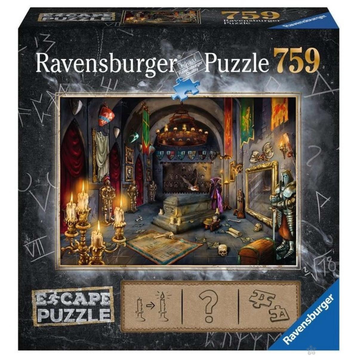 Ravensburger puzzle (slagalice) - Dvorac 759 delova