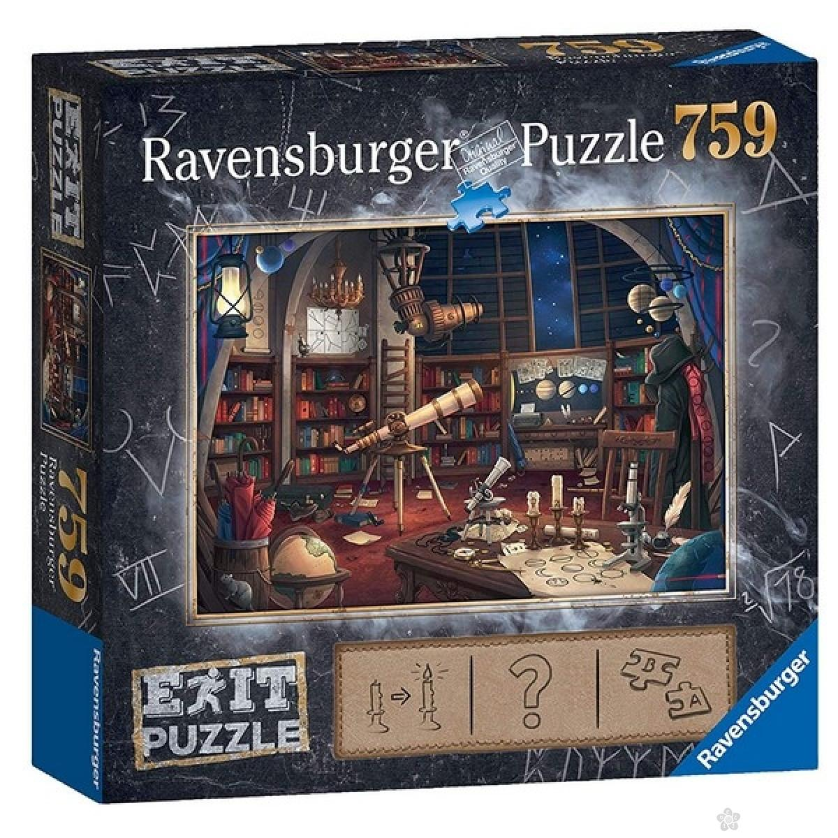 Ravensburger puzzle (slagalice) - Opservatorija 759 delova