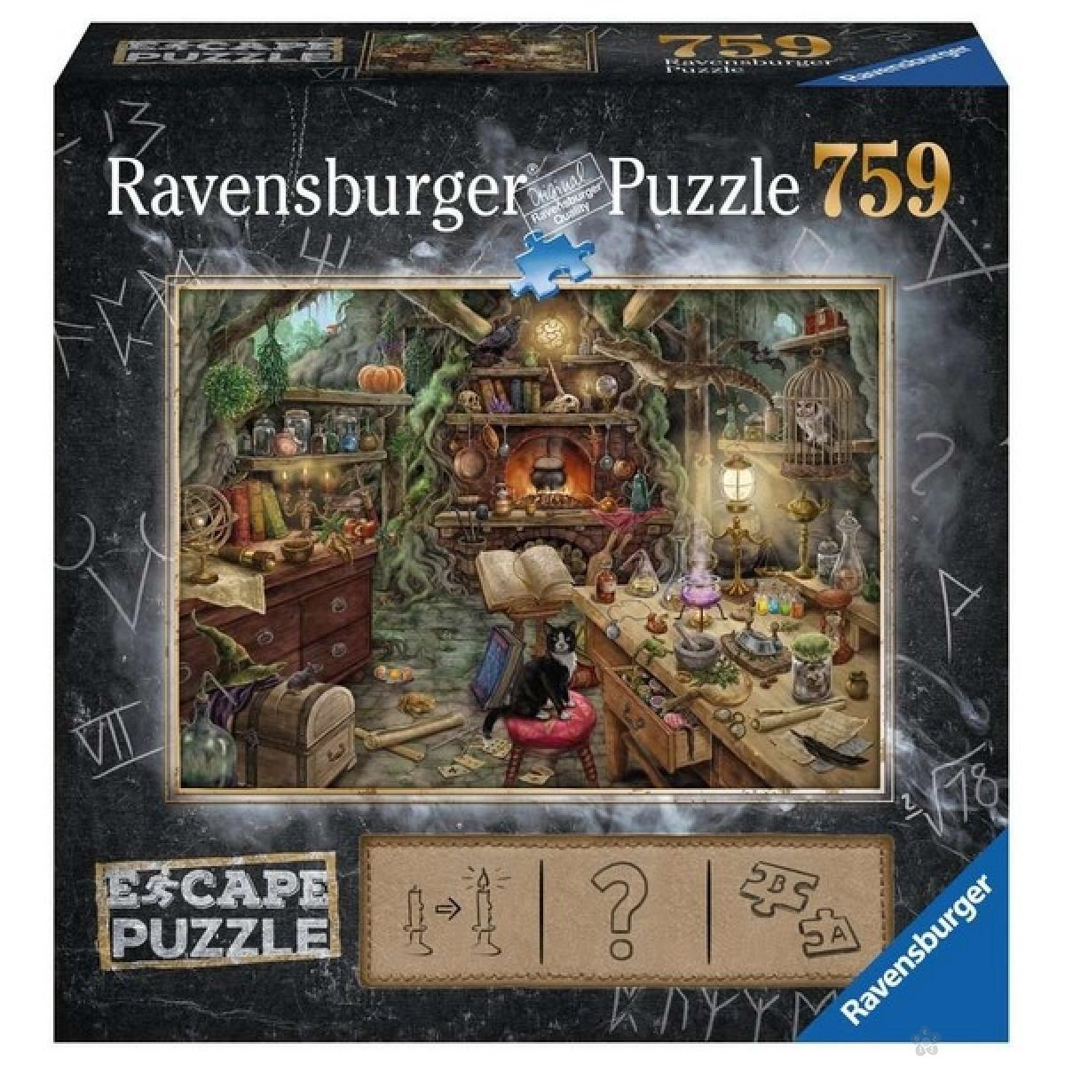 Ravensburger puzzle (slagalice) - Veštičiji dom 759 delova