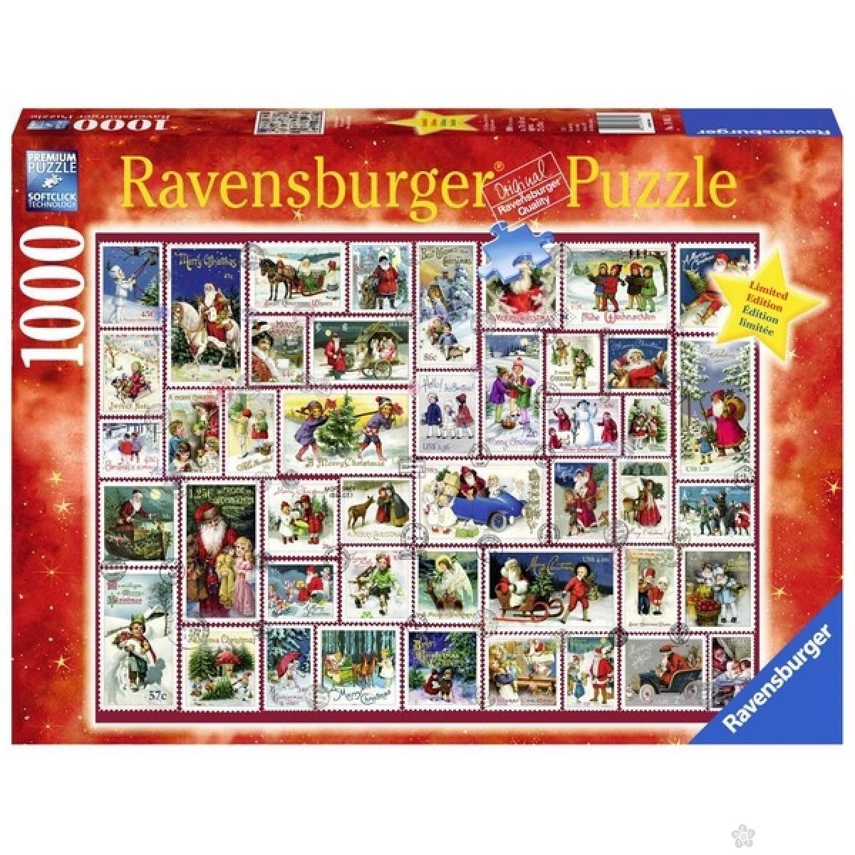 Ravensburger puzzle (slagalice) -Novogodišnje želje RA19881