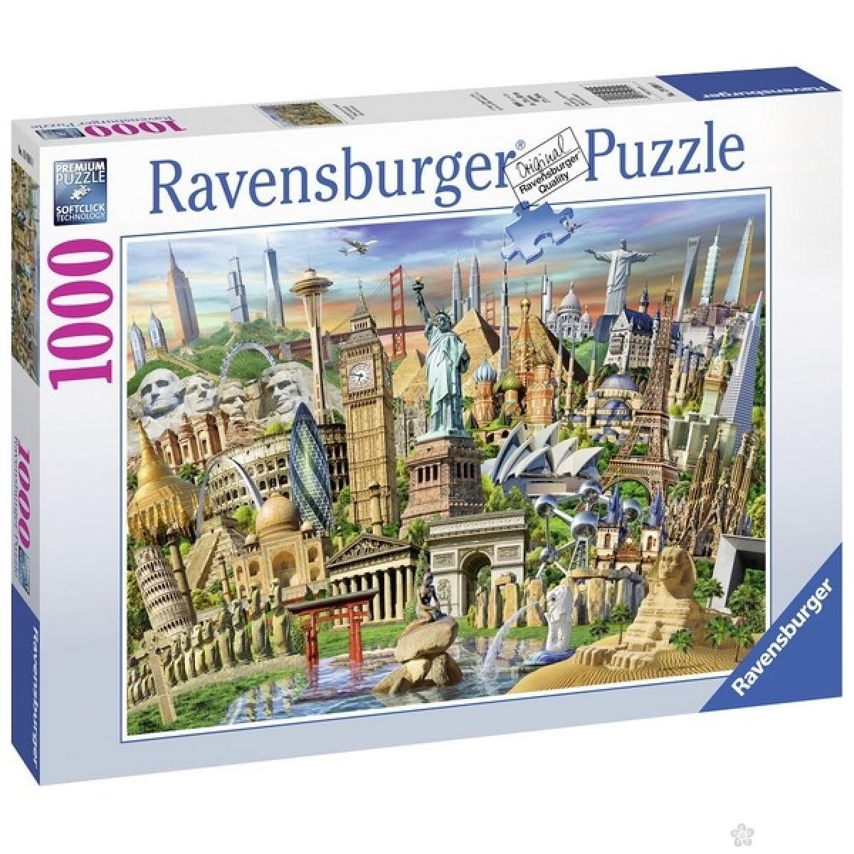 Ravensburger puzzle (slagalice) -Svetske znamenitosti  RA19890
