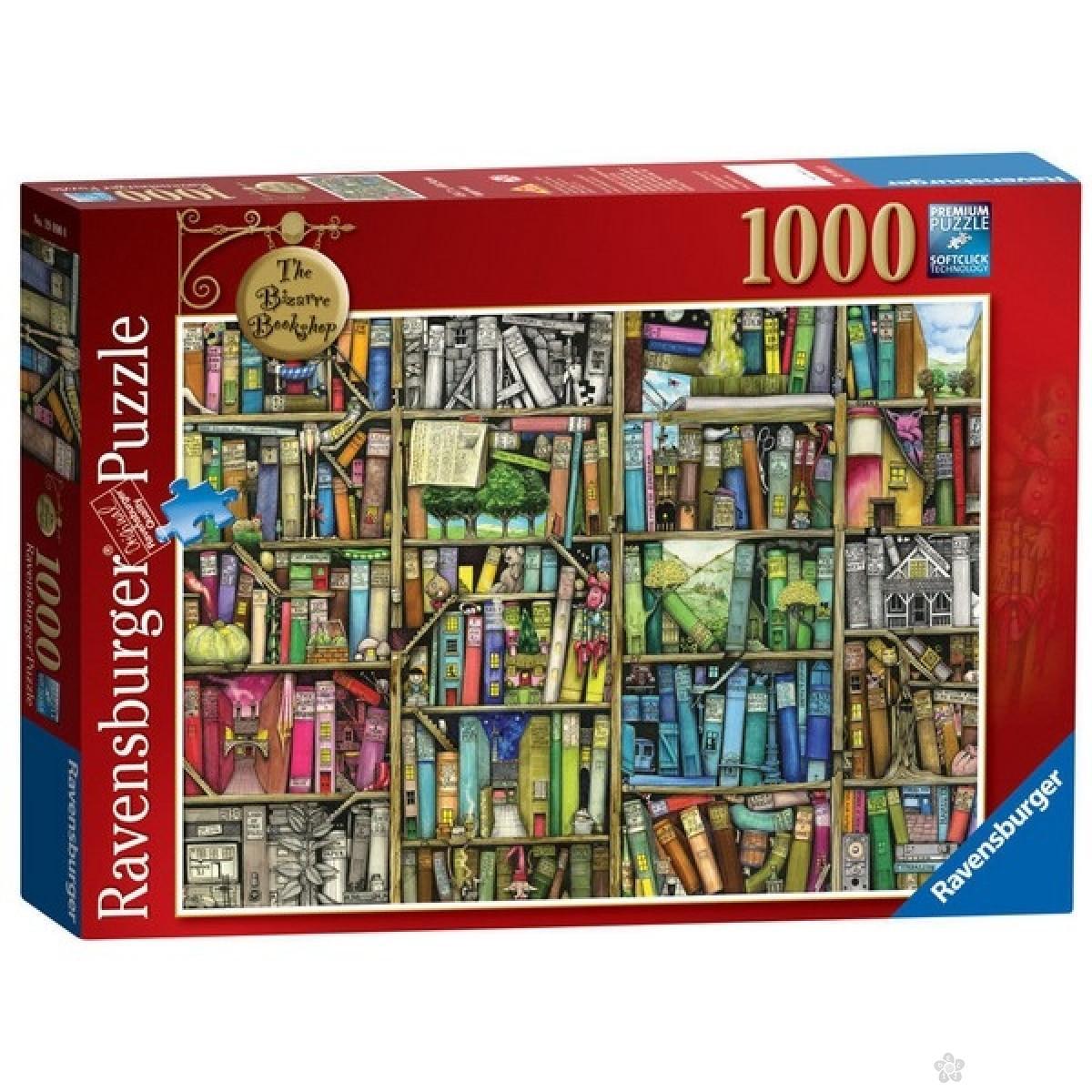 Ravensburger puzzle The Bizzarre Bookshop  RA19226