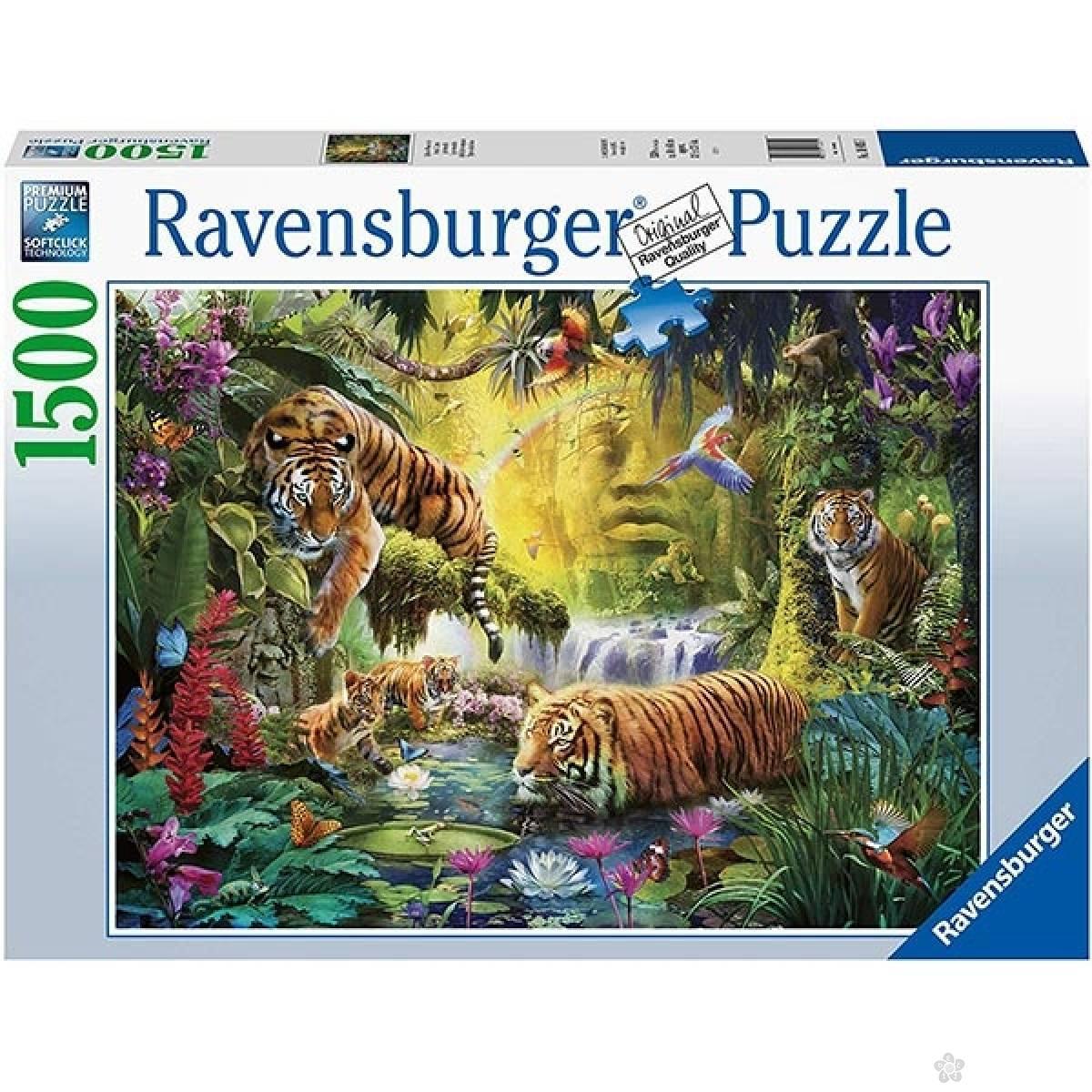 Ravensburger puzzla Tranquil Tigers RA16005