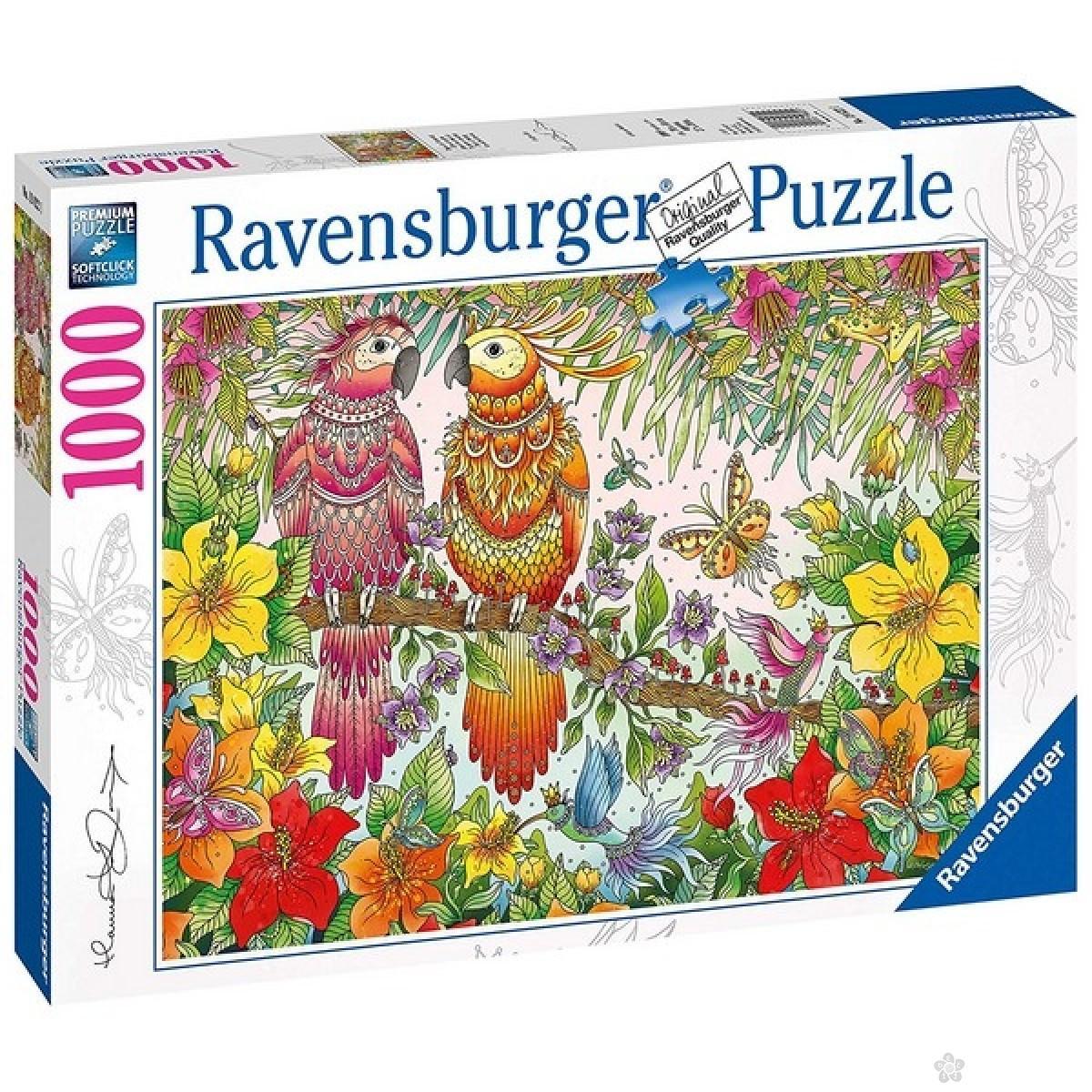 Ravensburger puzzle Tropski dodir  RA19822