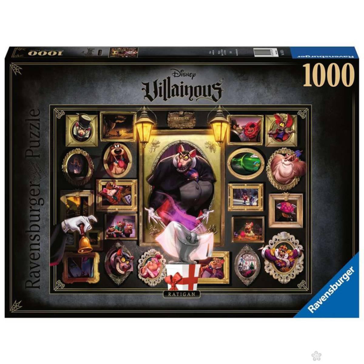 Ravensburger puzzla Villainous - Ratigan RA16521