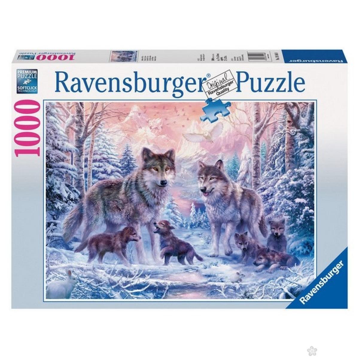 Ravensburger puzzle Vukovi RA19146