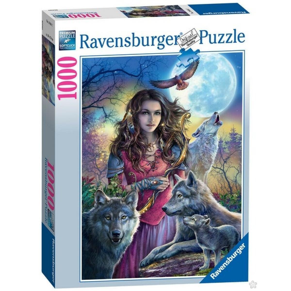 Ravensburger puzzle Zaštitnica vukova RA19664