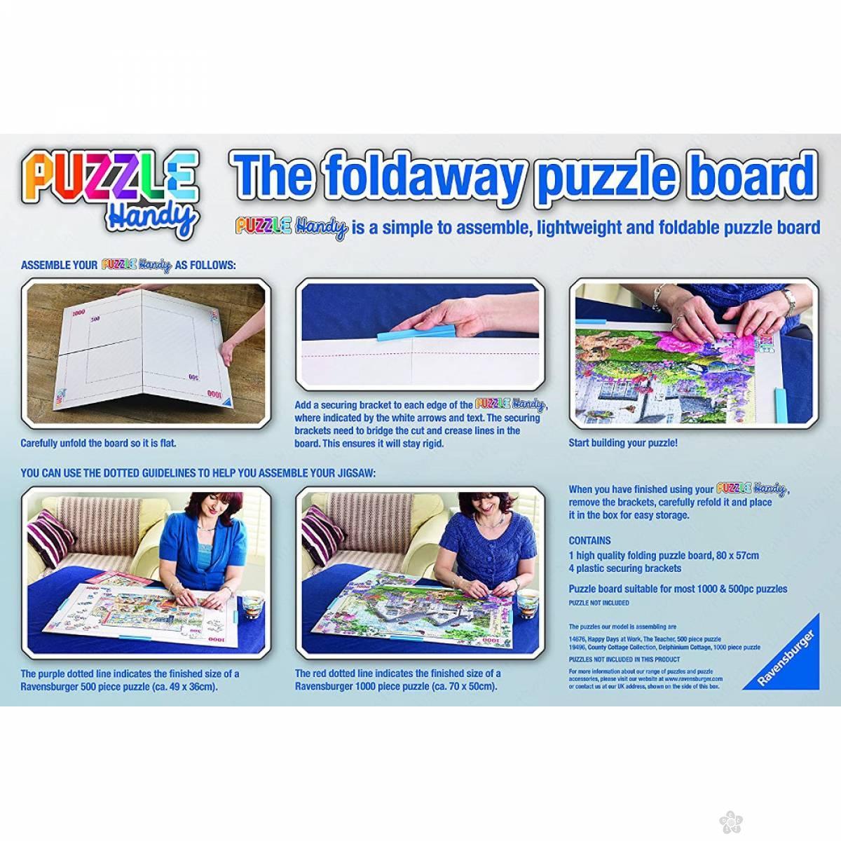 Ravensburger puzzle Asura za čuvanje RA17971