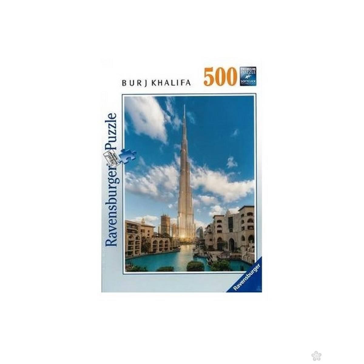 Ravensburger puzzle Burj Khalifa, Dubai RA16468