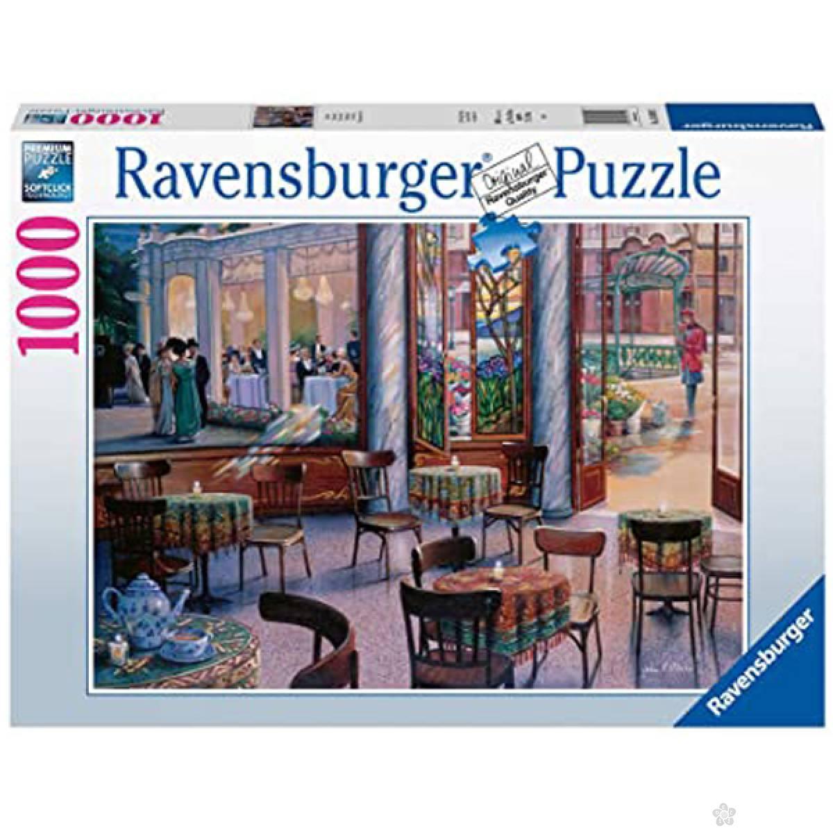 Ravensburger puzzle Cafe RA16449