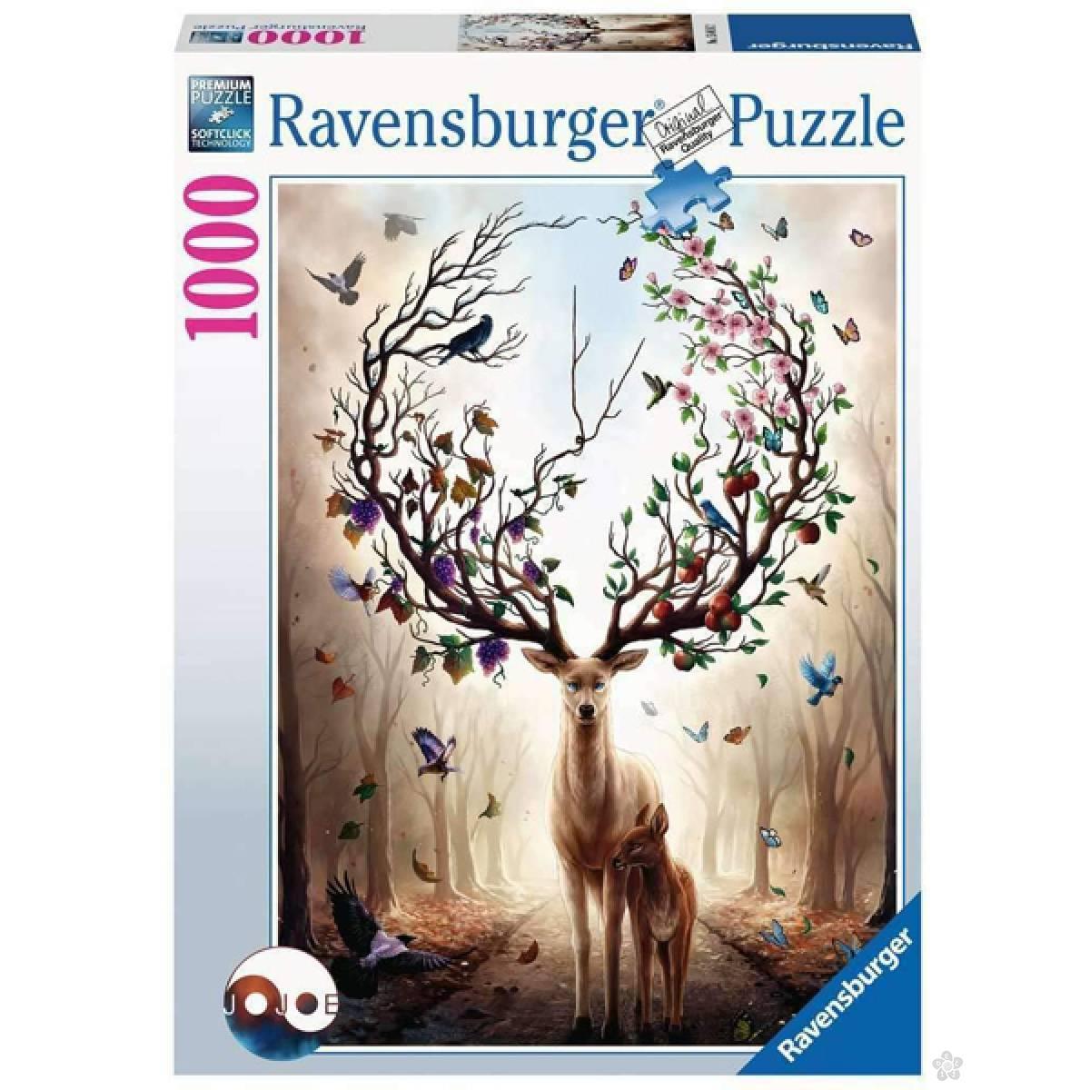 Ravensburger puzzle Čarobni jelen RA15018