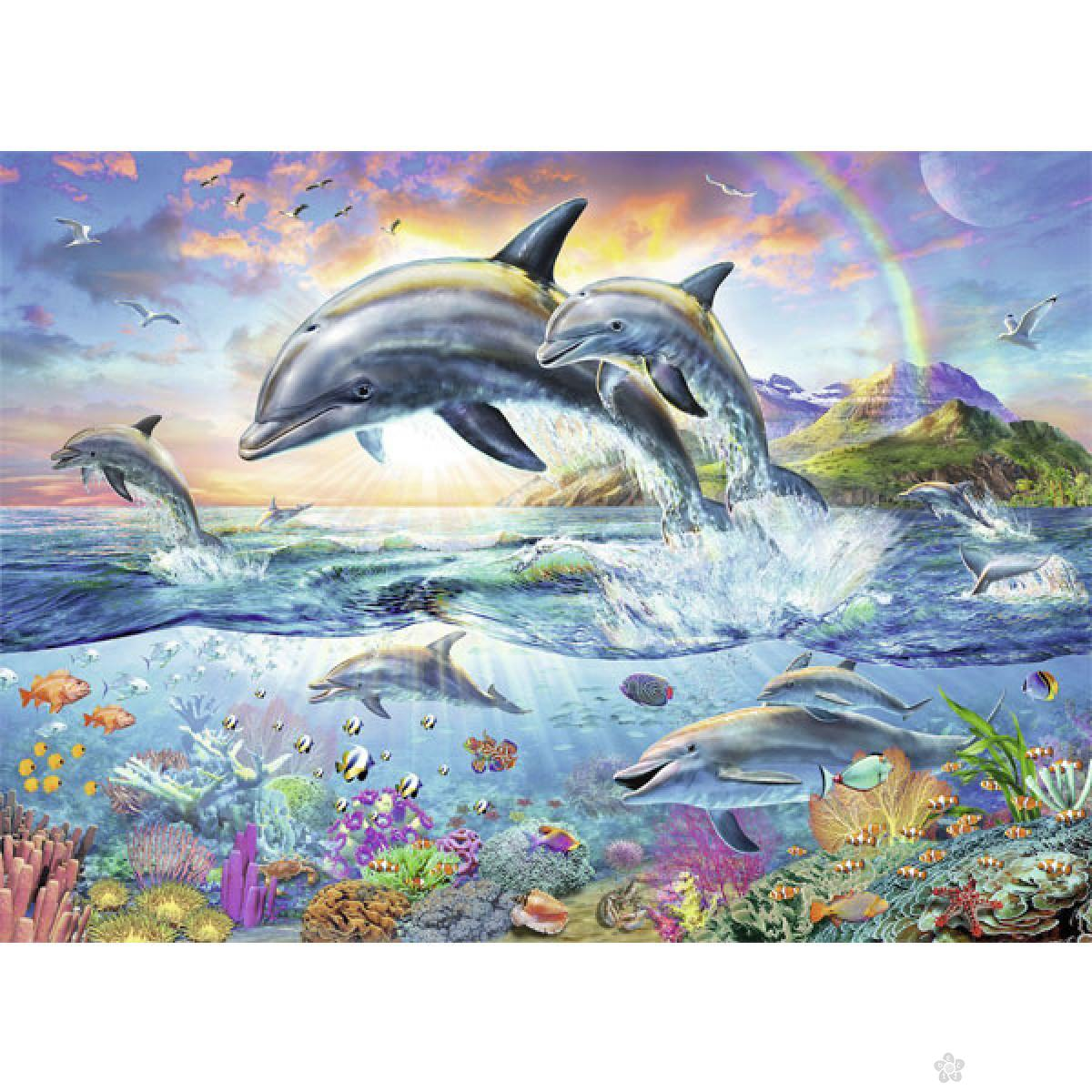 Ravensburger puzzle Delfini RA13697