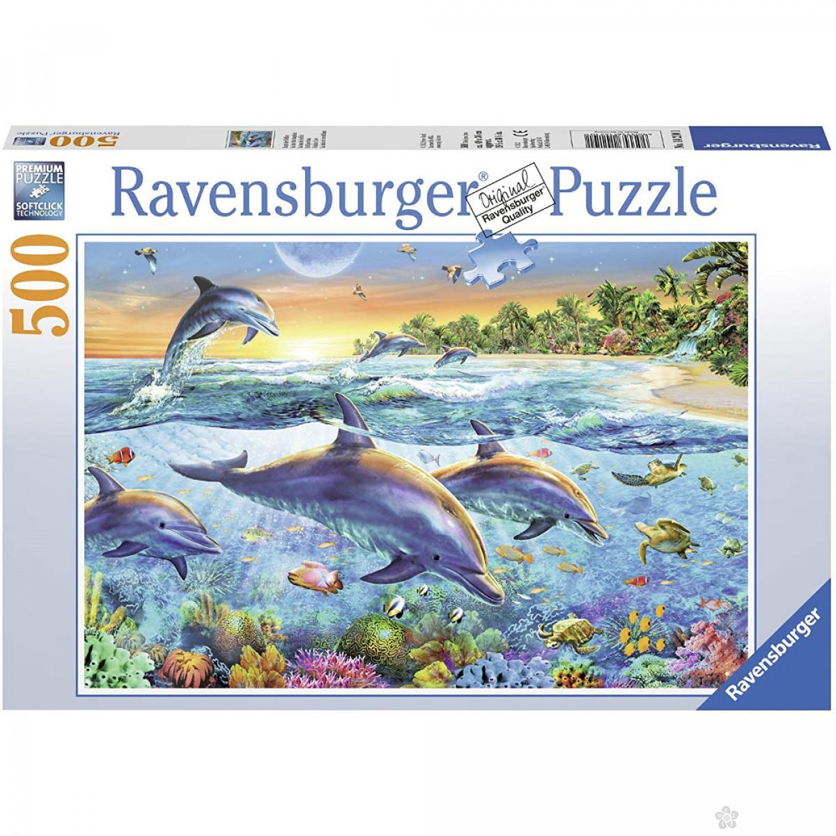 Ravensburger puzzle Delfini RA14210