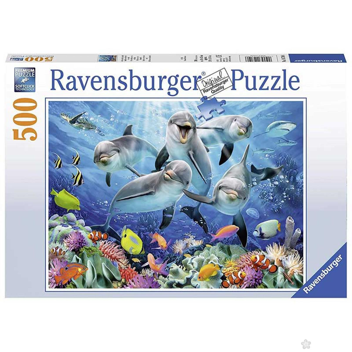 Ravensburger puzzle Delfini RA14710