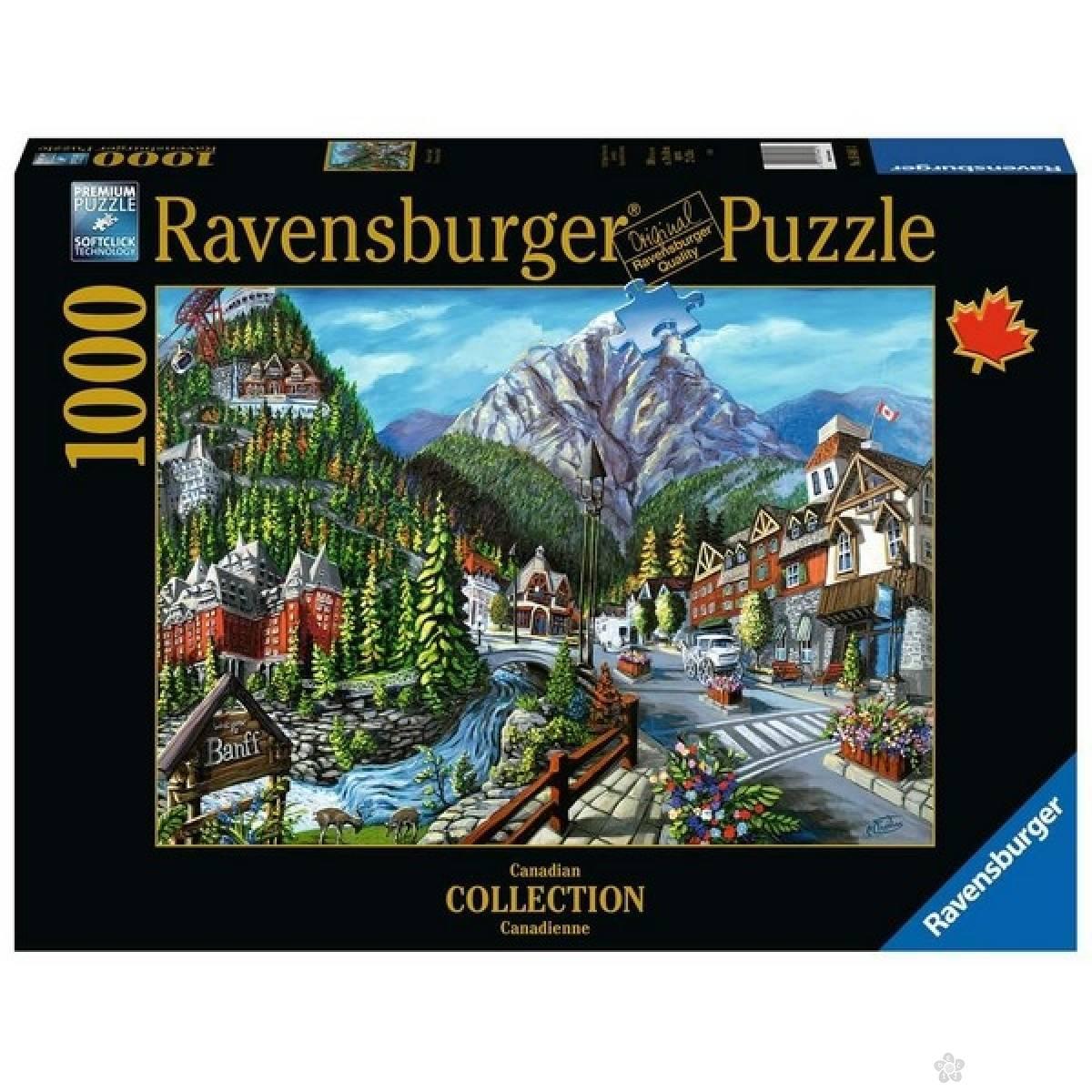 Ravensburger puzzle Dobrodosli u Banff  RA16481