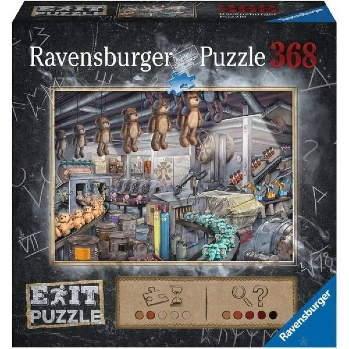 Ravensburger puzzle Exit puzzla fabrika igracaka RA16484
