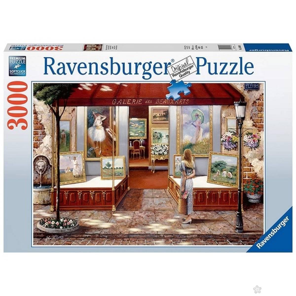 Ravensburger puzzle Galerija lepih umetnosti RA16466