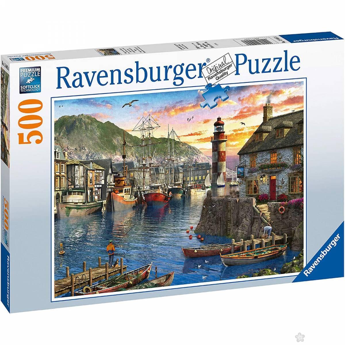 Ravensburger puzzle Izlazak sunca RA15045