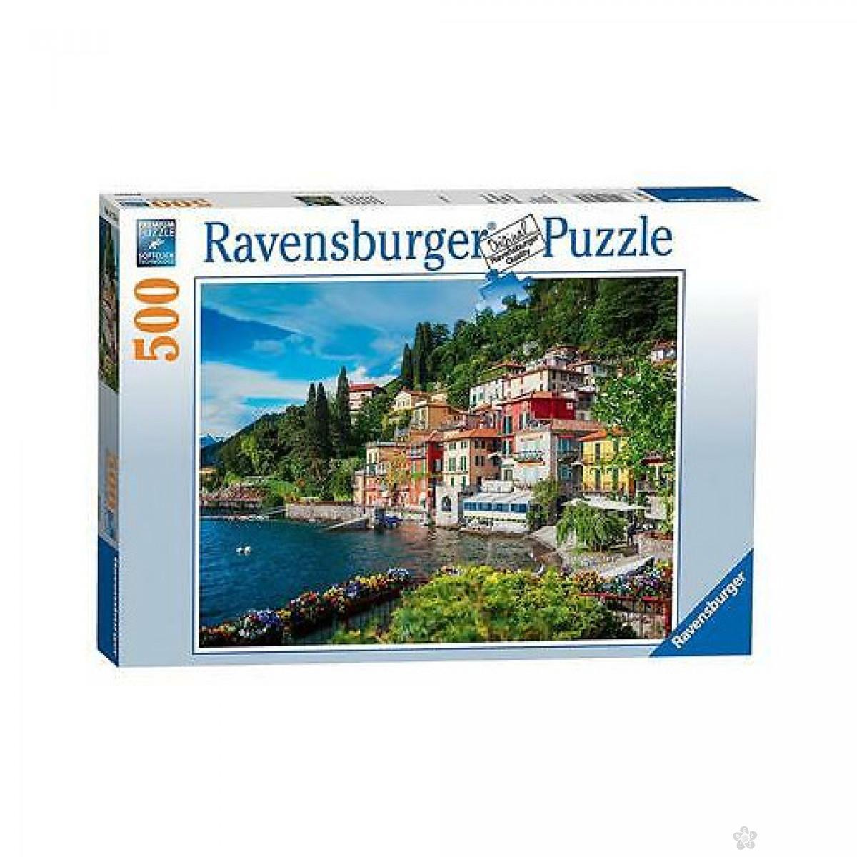 Ravensburger puzzle Jezero Como RA14756