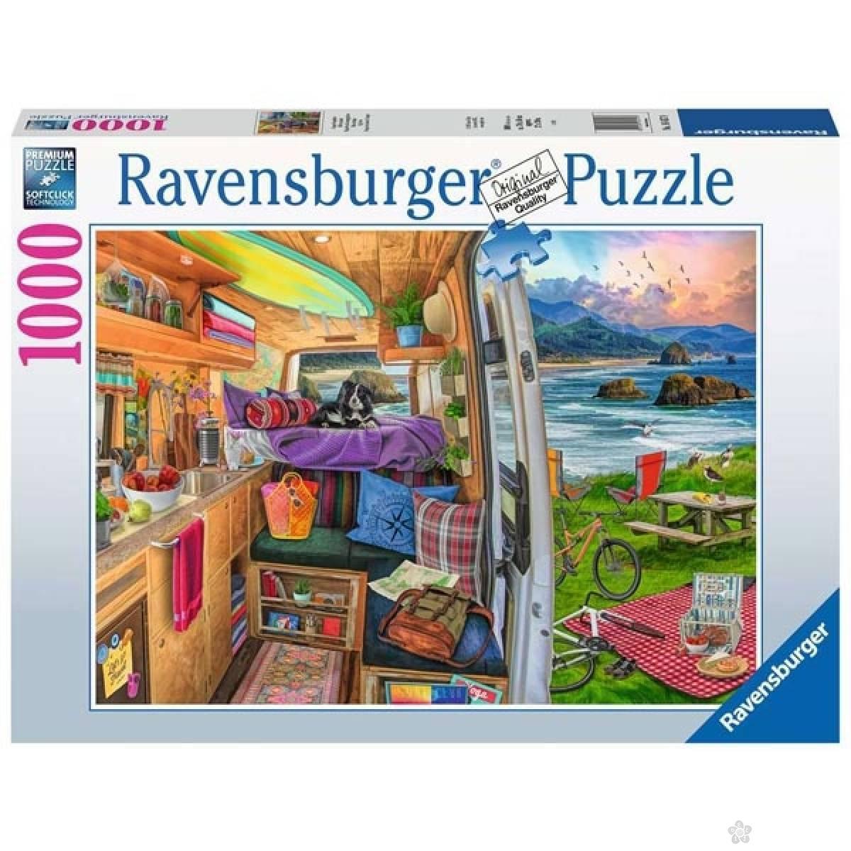 Ravensburger puzzle Najlepše bekstvo RA16457