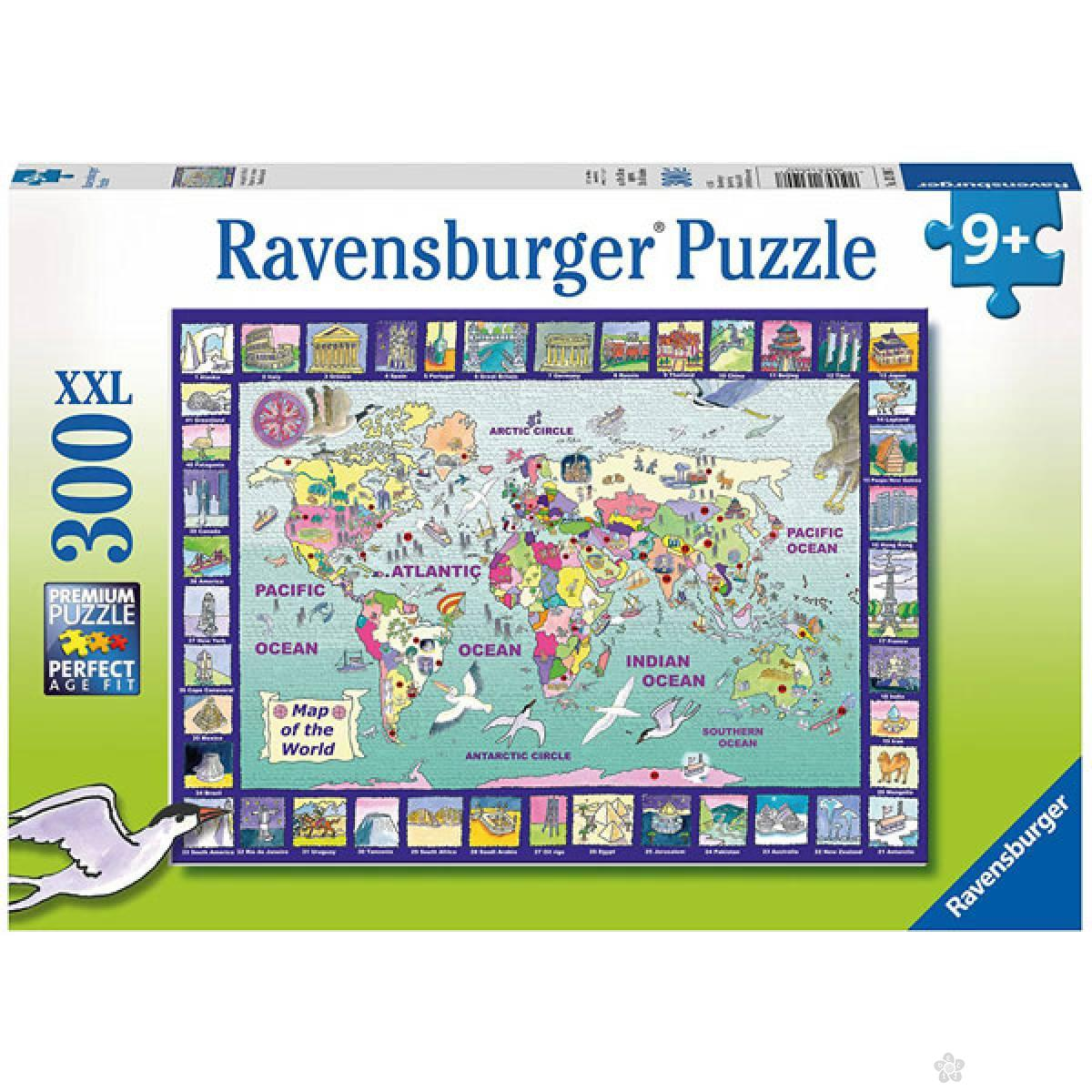 Ravensburger puzzle Pogled na Svet RA13190