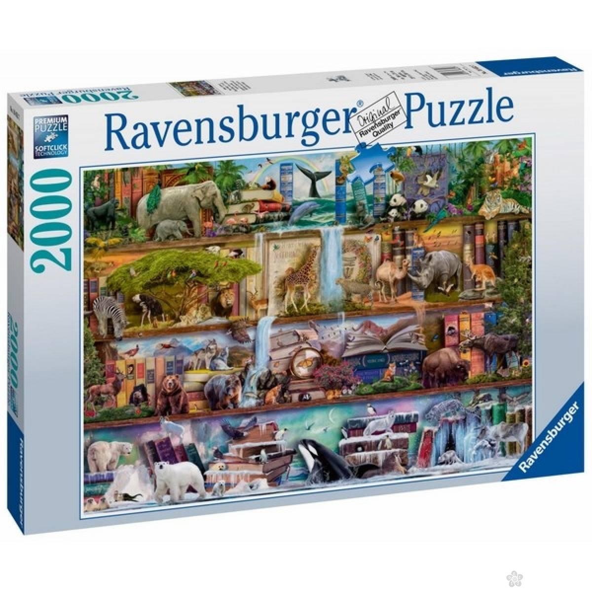 Ravensburger puzzle Prelepo zivotinjsko carstvo RA16652