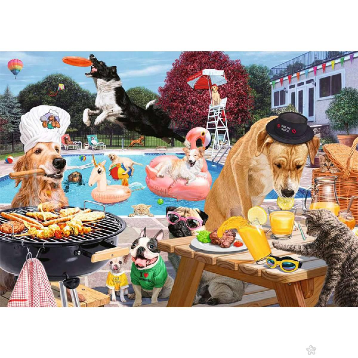 Ravensburger puzzle Psi na odmoru RA16810
