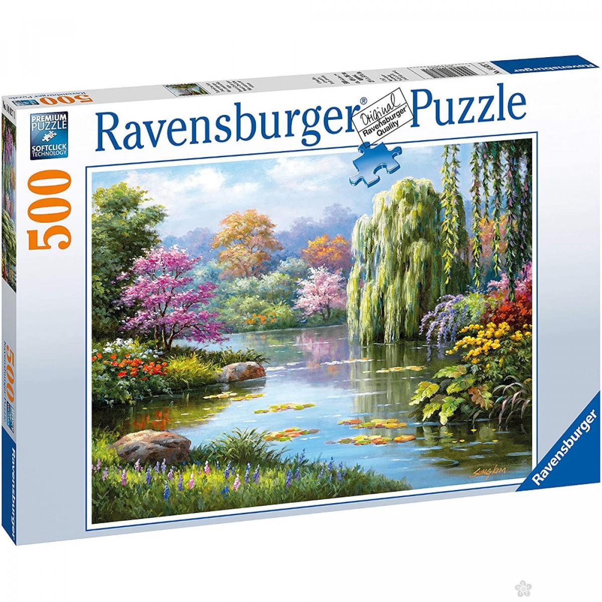 Ravensburger puzzle Romantično mesto RA14827