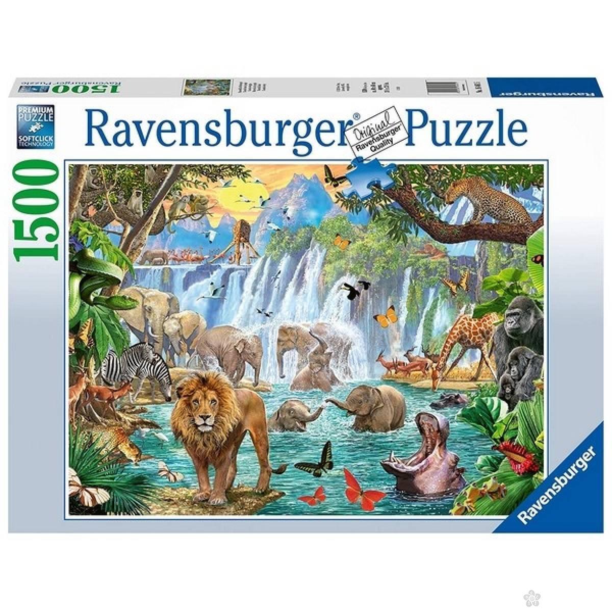 Ravensburger puzzle Safari vodopadi RA16461