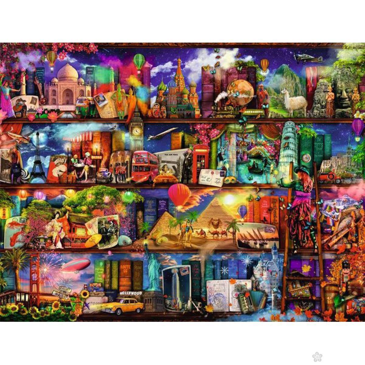 Ravensburger puzzle Svet knjiga RA16685