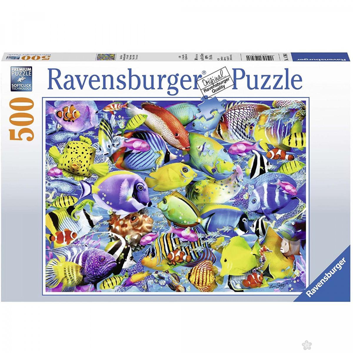 Ravensburger puzzle Tropska stvorenja RA14796