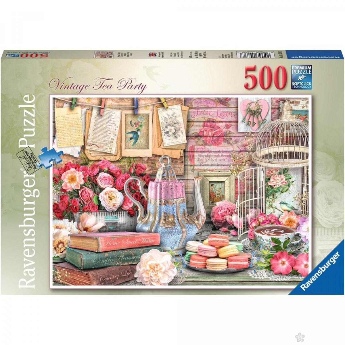 Ravensburger puzzle Vintage party RA14838