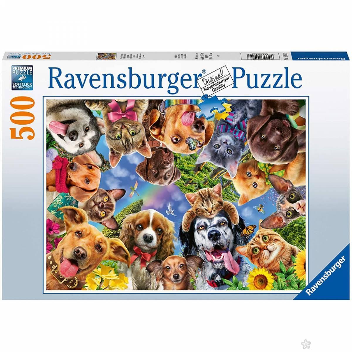 Ravensburger puzzle Životinjski selfi RA15042