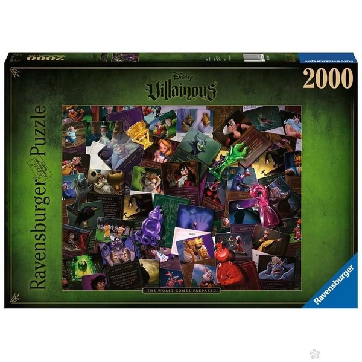 Ravensburger puzzle Zlikovci RA16506