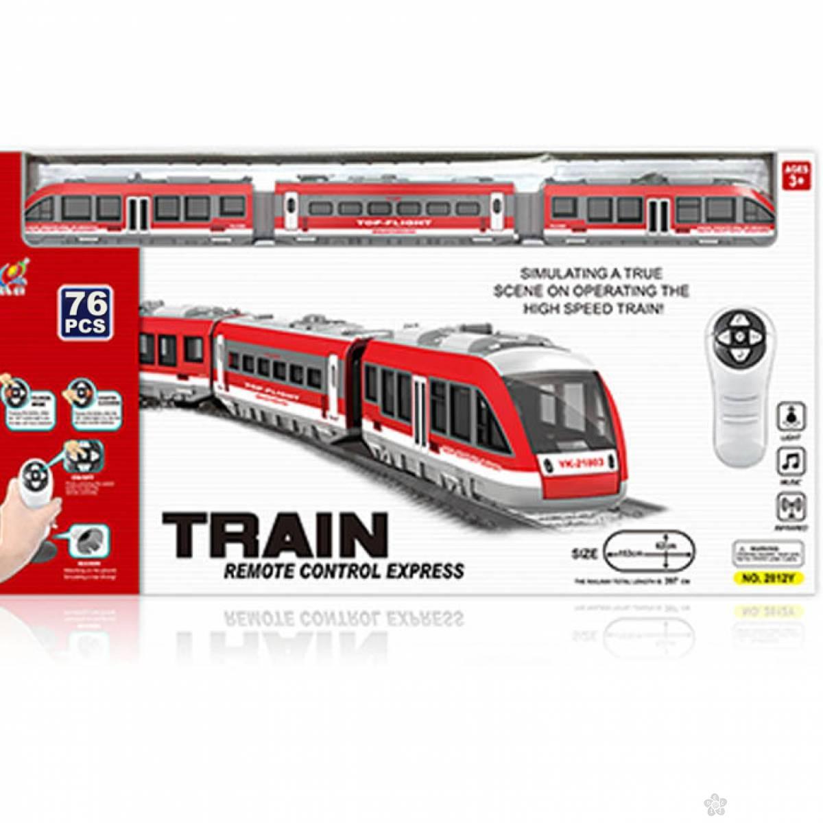 RC Metro voz- 76 elemenata 23049