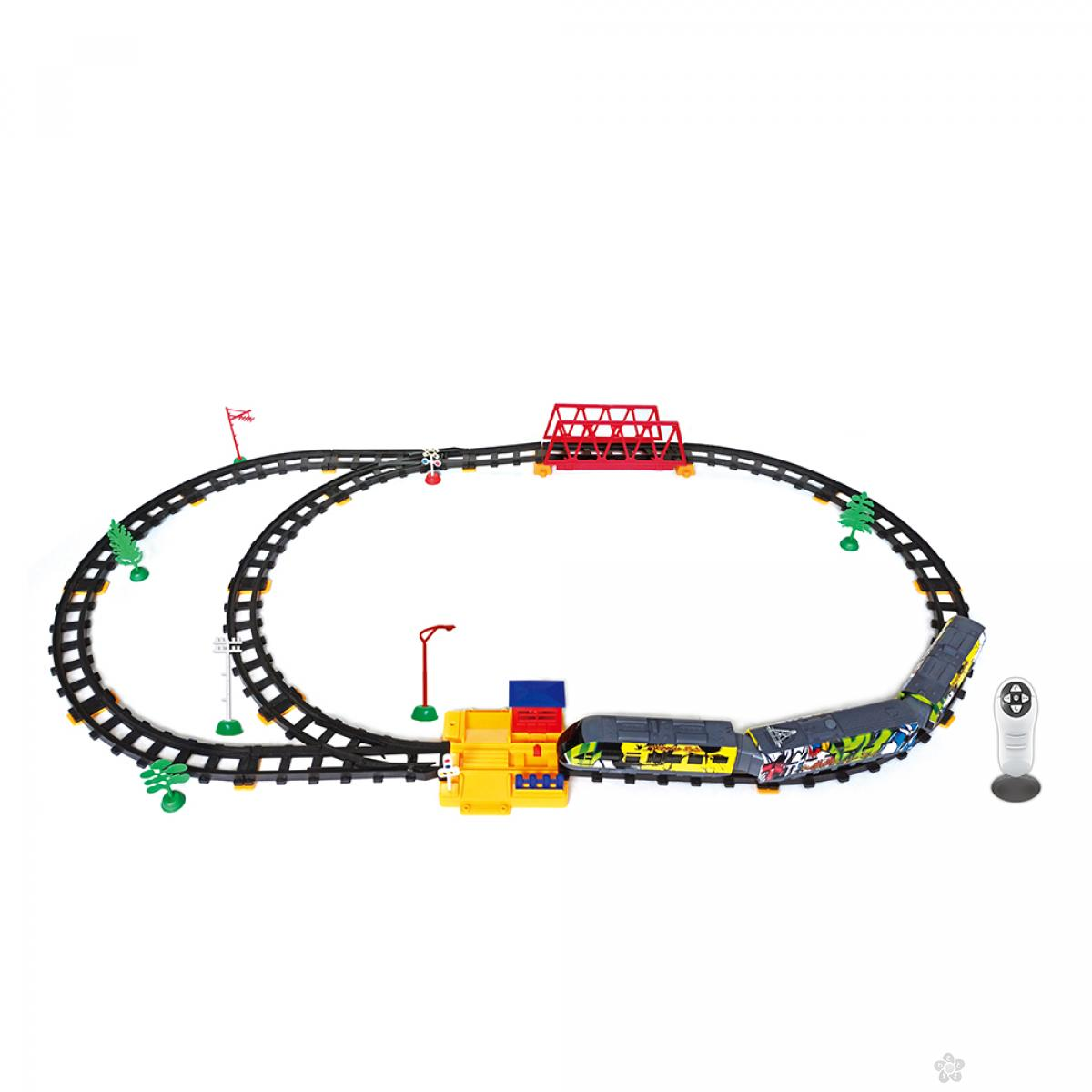 RC Voz, železnicka stanica i most- 51 Element 23052