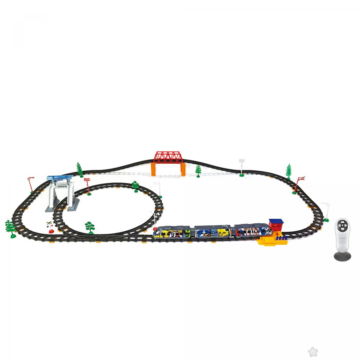 RC Voz, železnicka stanica i mostovi 99 Elementa 23053