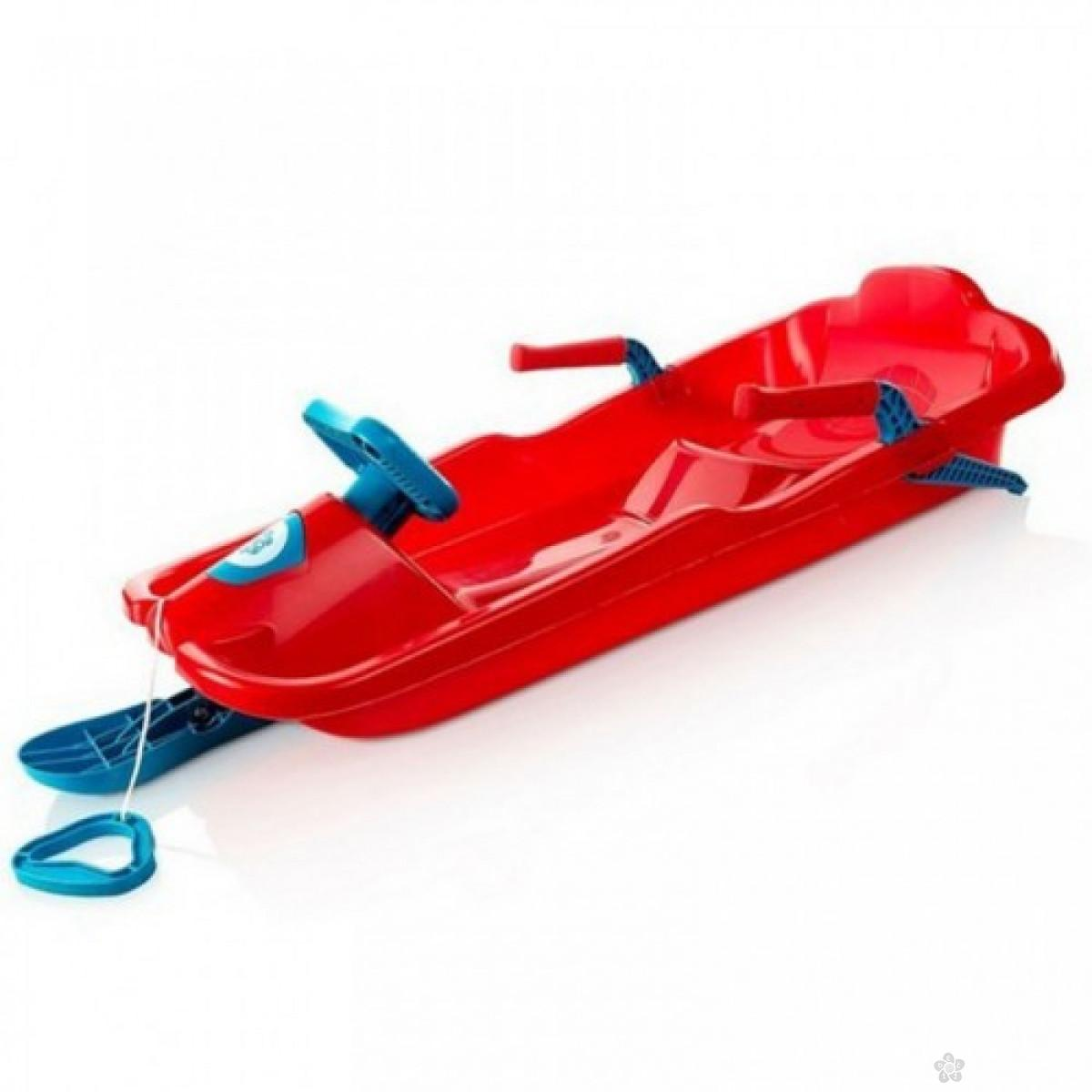 Sanke Plastkon Skibob red